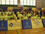 Clausura de la temporada de la Escuela de Atletismo en la Ciudad Deportiva Gran Canaria