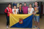 Lucas Bravo de Laguna se compromete a incrementar el respaldo al judo infantil y cadete grancanario