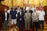 Agasajo del Cabildo a representantes de las seis selecciones que participan en la Copa del Mundo