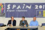 El `Gran Canaria Arena´ acoge a los medios de comunicación