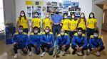 La Consejería de Deportes presenta el equipaje de los equipos que representan a Canarias en el I Campeonato de España Mapfre de Tenis Playa