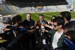 La Consejería de Deportes finaliza la coloración de las 10.000 butacas de la Grada Sur del Estadio de Gran Canaria