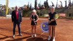 Francisco Castellano visita la Gran Canaria Yellow Bowl, que se celebra la Tennis Acadamy El Cortijo