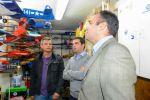 Lucas Bravo de Laguna y los representantes de Deportes Aéreos repasan necesidades y objetivos de esta Federación