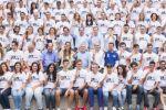 Los voluntarios de la Copa del Mundo reciben el apoyo del presidente del Cabildo y del consejero de Deportes
