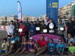 Culmina el primer ITF Suzuki de tenis playas de los tres que acoge la playa de Las Canteras