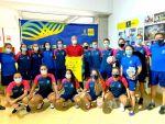 El Preconte visita el Instituto Insular de Deportes por su ascenso a Primera División