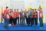 Los campeones de España de Voleibol sub-19 son agasajados por el Cabildo de Gran Canaria