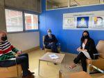 Francisco Castellano y Enrique Moreno presentan el proyecto Suma del Granca a la concejala de Bienestar Social de Ferrol, Eva Martínez
