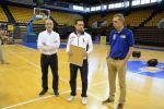 El Clinic de Arbitros recibió la visita del consejero de Deportes