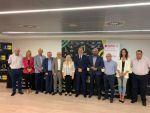 Cabildo y Ayuntamiento arropan al Spar Gran Canaria de baloncesto femenino en la presentación de la temporada 2019/2020