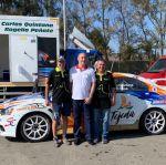 Castellano acompañó a  Xevi Pons y Juan Carlos Quintana en su preparación para   la última fase de la temporada automovilística