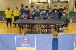 El Gran Canaria Arena acoge una jornada de tecnificación de tenis de mesa