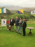 Presentación del Campeonato de España de Golf Amateur Masculino