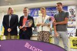 Gran Canaria se convierte durante dos días en referente mundial del tenis playa