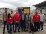 Lucas Bravo de Laguna extenderá el legado de la Copa del Mundo al equipo grancanario campeón nacional de goalball