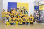 Lucas Bravo de Laguna recibió a la la delegación grancanaria de esgrima que acudió al Campeonato de España