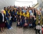 El proyecto Basket Solidario entrega balones y material promocional a 14 asociaciones de la Isla