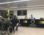 Ángel Víctor Torres se compromete a incrementar las ayudas al deporte adaptado