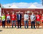 La Playa de Las Canteras acoge el Campeonato de España Mapfre de Tenis Playa 2021
