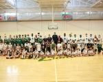 Francisco Castellano, Ilimane Diop y Javi López visitan el proyecto deportivo/social de Canterbury School representando al CB Gran Canaria