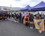 La Caravana Solidaria del Deporte de Gran Canaria para la recogida de productos navideños, un éxito de participación