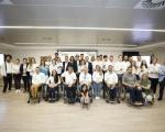 El consejero de Deportes asiste a la entrega de las Becas Capacitas 2018 que la Fundación Disa otorga a  30 deportistas con discapacidad