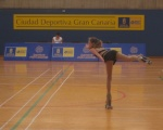 La iniciación al patinaje artístico cierra la temporada en los Juegos de Gran Canaria
