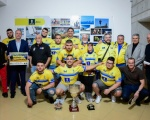 Francisco Castellano recibe a los campeones de Trofeo Pancho Camurria de Lucha Canaria