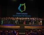 Los premios Gran Canaria Isla Europea del Deporte   abarrotan el Teatro Pérez Galdós