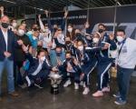 Francisco Castellano recibe al CV CCO 7 Palmas, campeonas de la Superliga Femenina de Voleibol