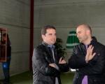 Consejero insular de Deportes y alcalde de Ingenio inauguraron el Pabellón Municipal El Sequero