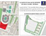 La Ciudad Deportiva 7 Palmas tendrá, dentro de cinco meses, 900 nuevas plazas de aparcamiento y un área de ocio