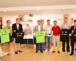 Lucas Bravo de Laguna presenta el Torneo de Fútbol Playa