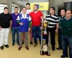 Lucas Bravo de Laguna felicita al Unión Sardina tras la consecución de la Liga Cabildo de Gran Canaria