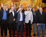 La visita al Cabildo cierra la serie de homenajes brindados a Carnevali, Fernández, Wolff, Morete y Brindisi