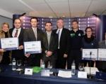 La San Silvestre entrega a las ONG´s los 51.100 euros recaudados