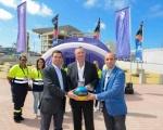 Lucas Bravo de Laguna felicita al Hospital Perpetuo Socorro por su apoyo en la celebración de la Copa del Mundo de Baloncesto
