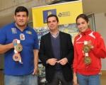 Lucas Bravo de Laguna incluye a la Campeona del Mundo de Granppling, Julia Domínguez, entre los deportistas que apoya el Cabildo