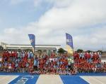 El II Campus de Baloncesto Rosi Sánchez anota un 'triple' en deporte y formación