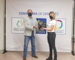 La piloto ítalo-canaria Christine Giampoli será la imagen de Gran Canaria Isla Europea del Deporte en el campeonato Extreme-E