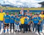 Castellano recibe al campeón de España de béisbol Sub-11, el Club Capitalinos
