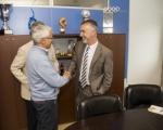 La Consejería de Deportes y la UD Las Palmas anuncian la agilización de las obras de acercamiento del graderío en el Estadio de Gran Canaria