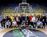 Castellano enseña a los alumnos de Ciencias de la Actividad Física de la ULPG la Ciudad Deportiva de 7 Palmas