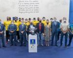 El CV Guaguas, homenajeado en el Cabildo de Gran Canaria tras la conquista de la Supercopa Masculina de Voleibol