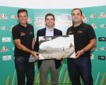Lucas Bravo de Laguna materializa, con 25.000 euros, el apoyo de su departamento a la Transgrancanaria