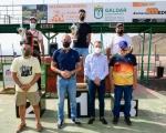 Carlos Santana, campeón de la I Copa Instituto Insular de Deportes del Cabildo de Gran Canaria de Tiro celebrado en Gáldar