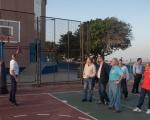 Francisco Castellano visita el pabellón 'Rita Hernández' para conocer el estado de la infraestructura